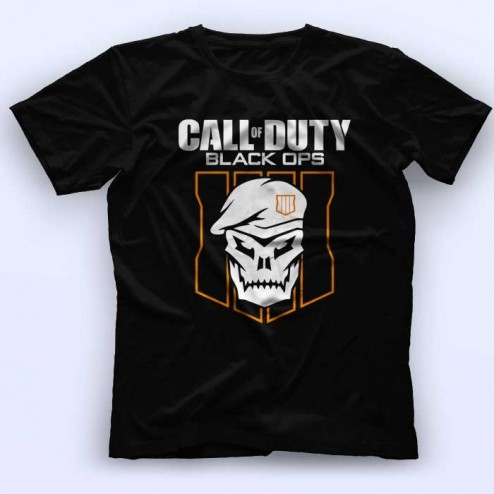 Call of dutty black ops majica crna