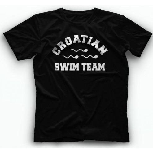 Majica Croatian SwimTeam kratki rukav