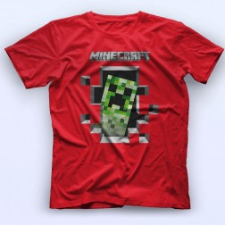 Minecraft Creeper Majica