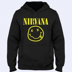 Nirvana Smiley Hoodica