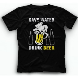 Save Water Drink Beer Majica
