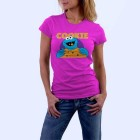 cookie_monster_zenska_majica_kratki_rukav_roza
